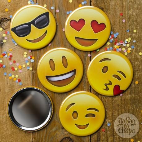 Pack espejos emoji