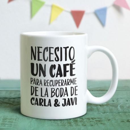 Taza Necesito un café - Yosoytuchapa
