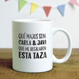 Taza ¡Qué majos son! - Yosoytuchapa