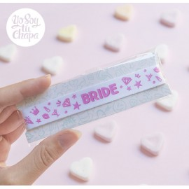 Pulsera despedida BRIDE